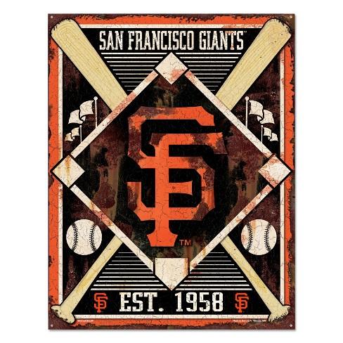 MLB San Francisco Giants Metal Sign - image 1 of 1
