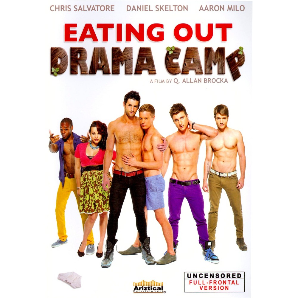Eating Out Drama Camp (Dvd) This sex comedy from Allan Brocka follows the goings-on at Dick Dickey's Drama Camp, where a struggling couple (Daniel Skelton, Chris Salvatore) finds their relationship complicated further by a sexually charged production of The Taming of the Shrew.