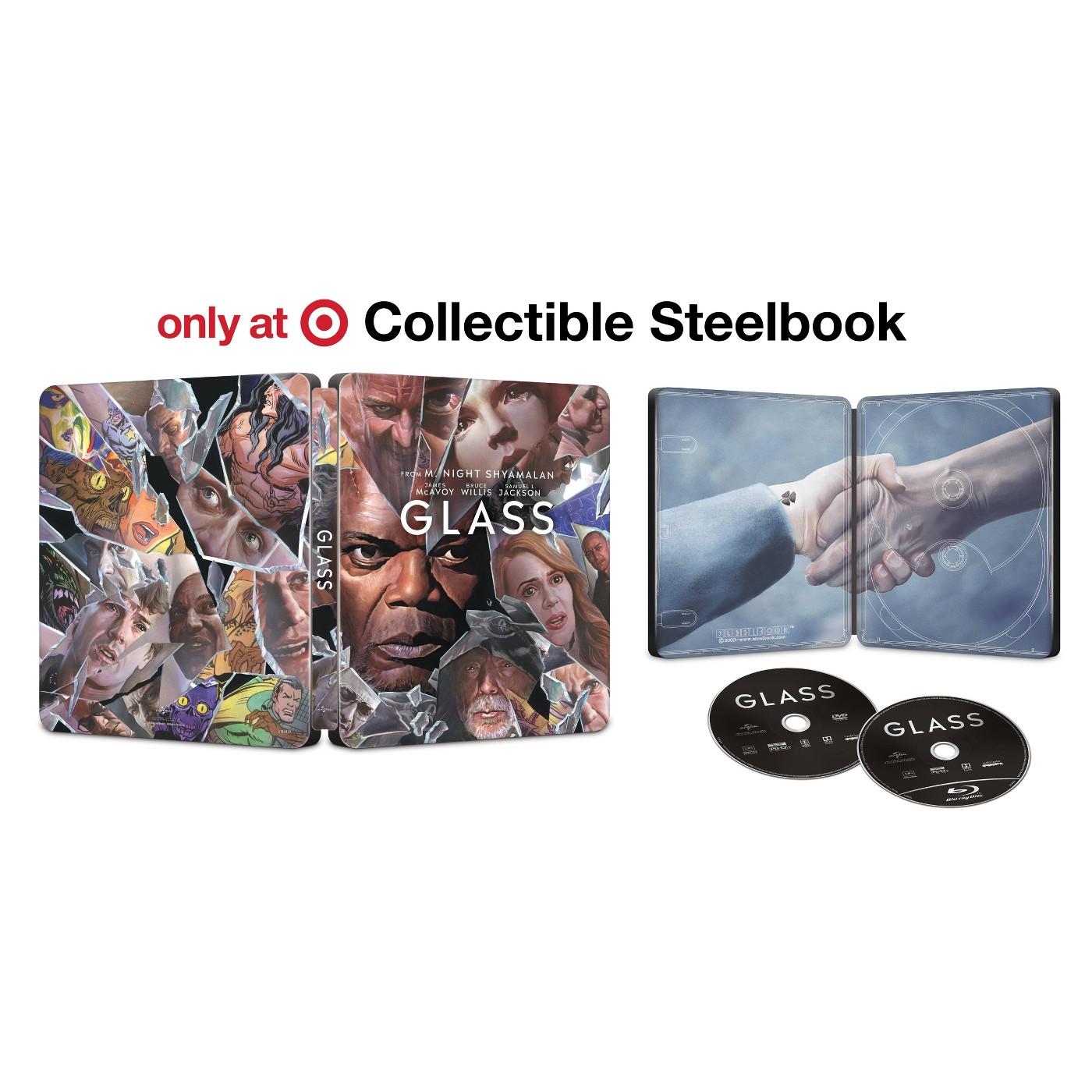 Glass - Target Exclusive Steelbook (Blu-Ray + DVD + Digital) - image 1 of 1