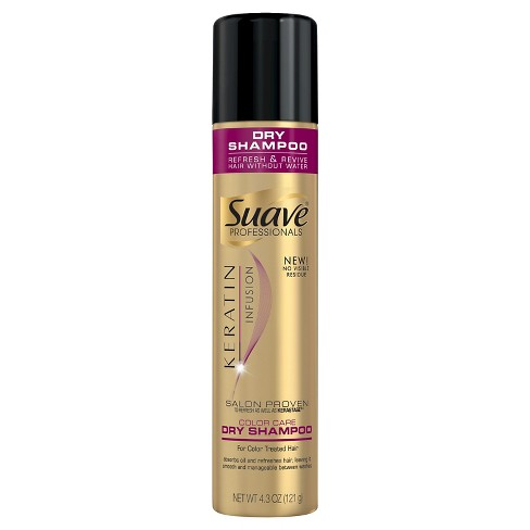 Suave Professionals Keratin Infusion Color Care Dry Shampoo 4.3 oz - image 1 of 1