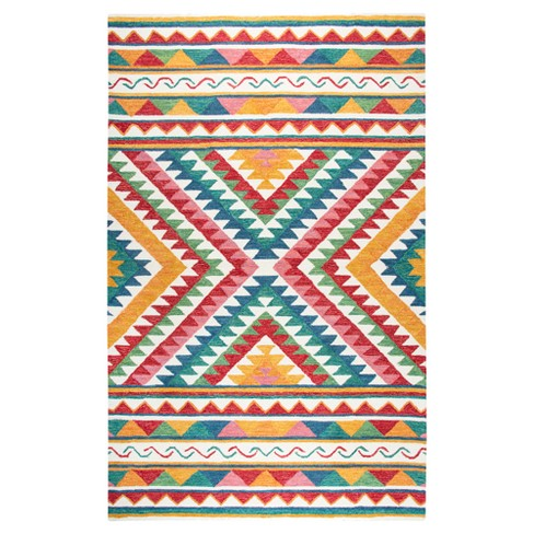 Boho Aztec Tufted Rug - Rizzy Home - image 1 of 2