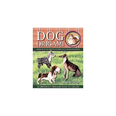Dog Origami 20 Different Origami Dogs To Create Paperback Seth