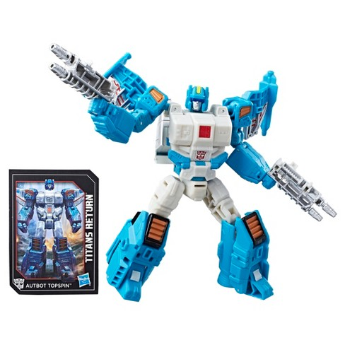 Transformers Generations Titans Return Deluxe Autobot Topspin and Freeze Out - image 1 of 10