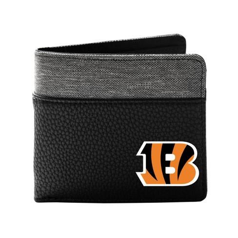 NFL Cincinnati Bengals Pebble BiFold Wallet - image 1 of 2