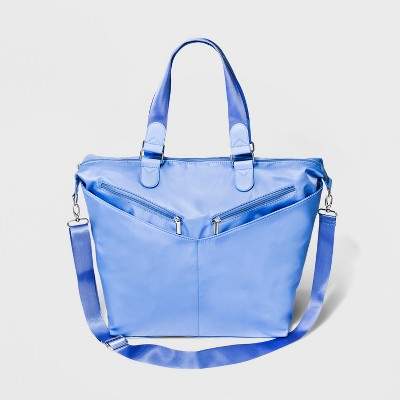 Double Zip Pocket Weekender Bag - Wild Fable™ Blue 9f128c1a5f368