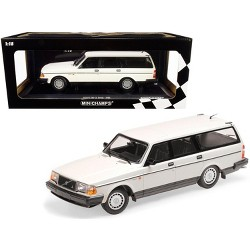 1986 Volvo 240 GL Break White Limited Edition to 504 pieces Worldwide 1/18 Diecast Model Car by Minichamps