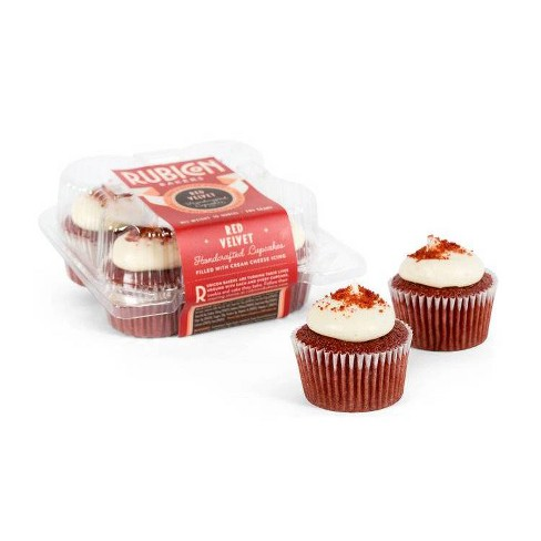 Rubicon Bakery Red Velvet Cupcakes - 10oz/4ct - image 1 of 1