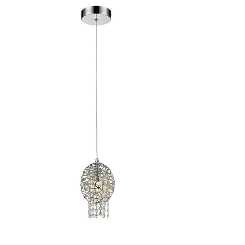 Mini Pendant with Chrome Glass Ceiling Lights - Z-Lite - image 1 of 1