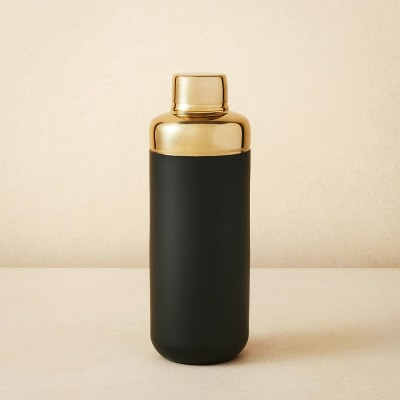 Stainless Steel Cocktail Shaker Gold/Black - Opalhouse™ designed with Jungalow™