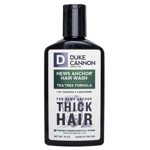 Duke Cannon News Anchor 2-in-1 Hair Wash Tea Tree Formula - 10oz - image 1 of 3
