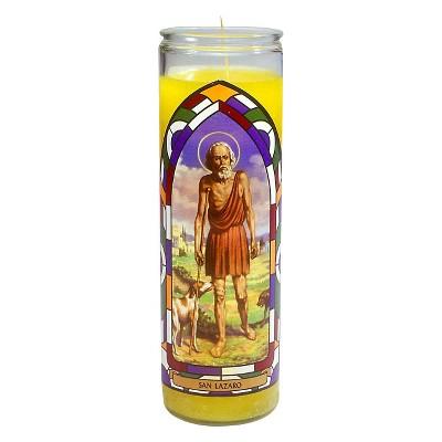 Jar Candle San Lazaro Yellow - Continental Candle