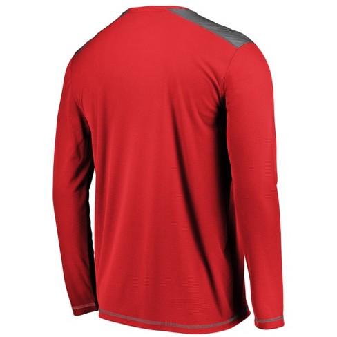 buy online d6795 26f9a Houston Rockets Men's All Pride Long Sleeve Geo Fuse Shooting Top XXL