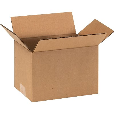 SI Products 9 x 6 x 6 Shipping Boxes, 32 ECT, Brown 90606