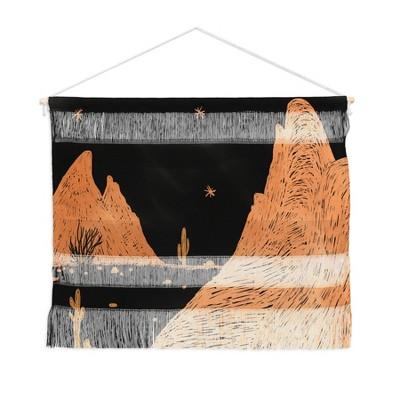 Alisa Galitsyna A Night in the Desert Fiber Wall Hanging - Society6