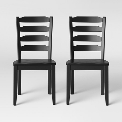 2pk Colebrook Ladder Back Dining Chair