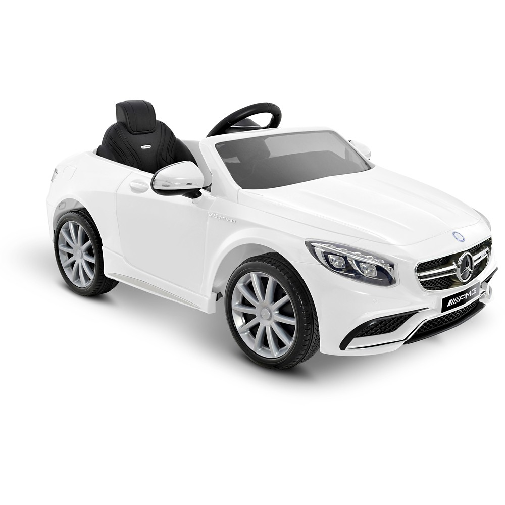 Kid Motorz 6V Mercedes-Benz S63 - White