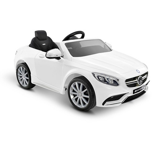 Kid Motorz  6V Mercedes-Benz S63  - White - image 1 of 1