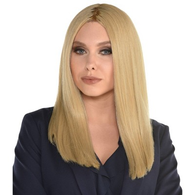 Adult Blonde Halloween Costume Wig