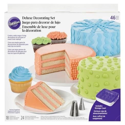 wilton 46 piece deluxe dessert decorating set target