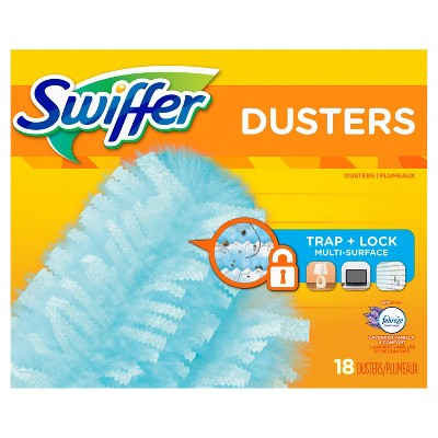 Swiffer 180 Dusters Multi Surface Refills with Febreze Lavender Vanilla & Comfort Scent - 18ct