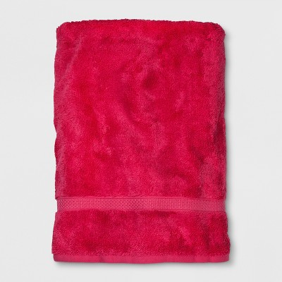 Soft Solid Bath Sheet Hot Pink - Opalhouse™