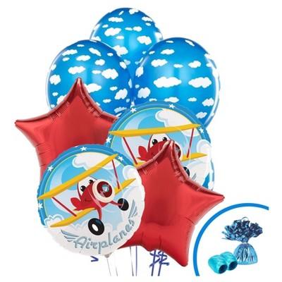 Airplane Adventure Balloon Bouquet