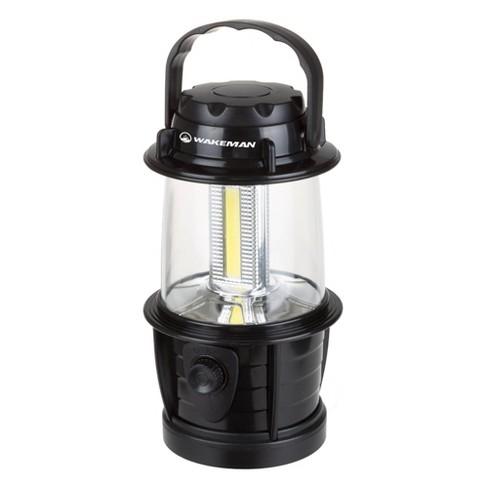 Wakeman Portable LED Camping Lantern - Black - image 1 of 4