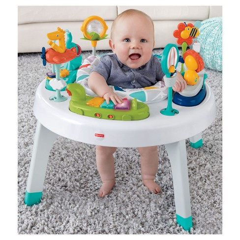 9bbe964fe2e7 Fisher-Price 2-in-1 Sit-to-Stand Activity Center - Safari   Target