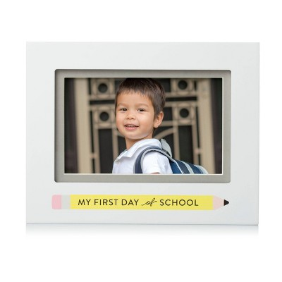 """Pearhead First Day of School 4"""" x 6"""" Picture Frame"""