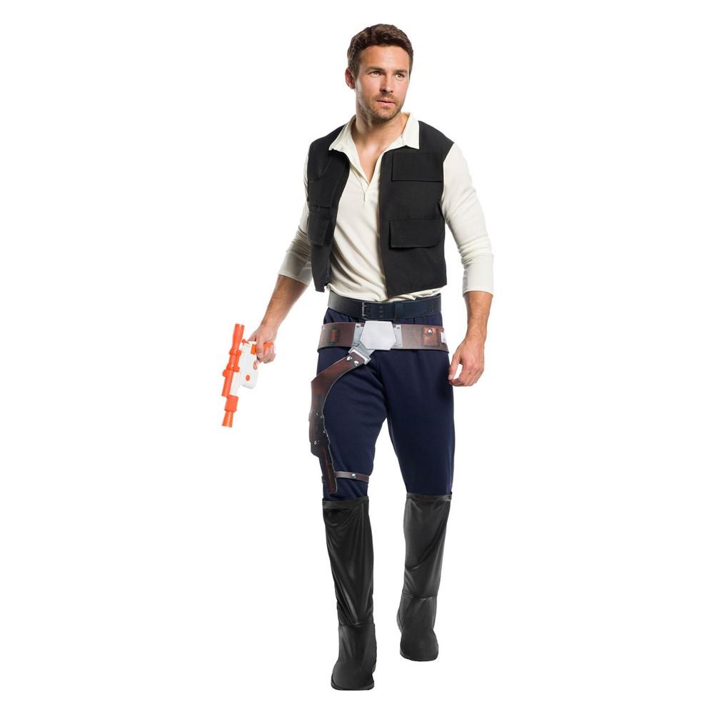 Star Wars Men's Classic Han Solo Halloween Costume - XL, Multicolored