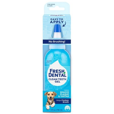 Naturel Promise Fresh Dental Clean Teeth Gel For Dogs & Cats - 4oz
