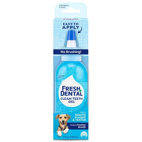 Naturel Promise Fresh Dental Clean Teeth Gel For Dogs & Cats - 4oz - image 1 of 3