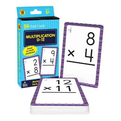 Multiplication 0 To 12 Flash Cards - by Carson Dellosa
