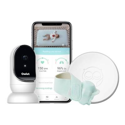 Owlet Monitor Duo - Smart Sock plus HD Video Camera