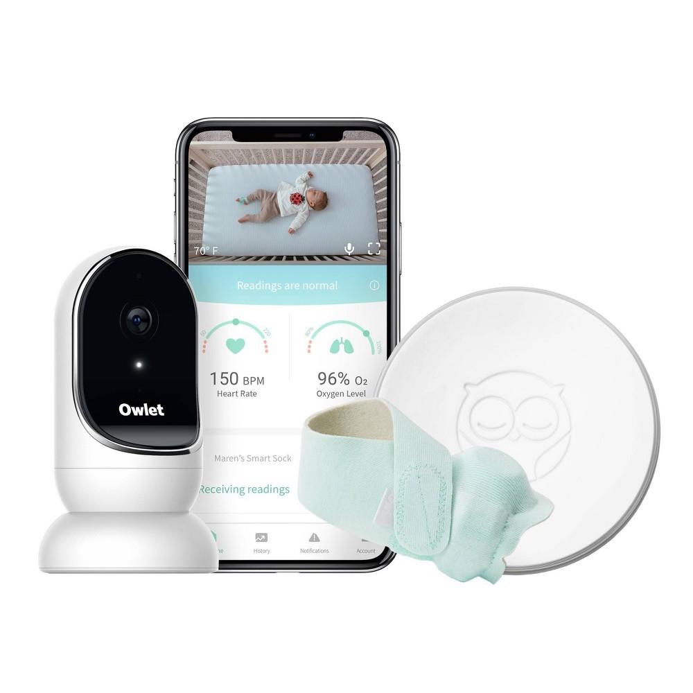 Image of Owlet Monitor Duo - Smart Sock plus HD Video Camera