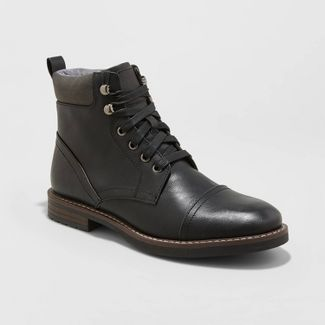 Men's Jeffery Fashion Boots - Goodfellow & Co™ Black