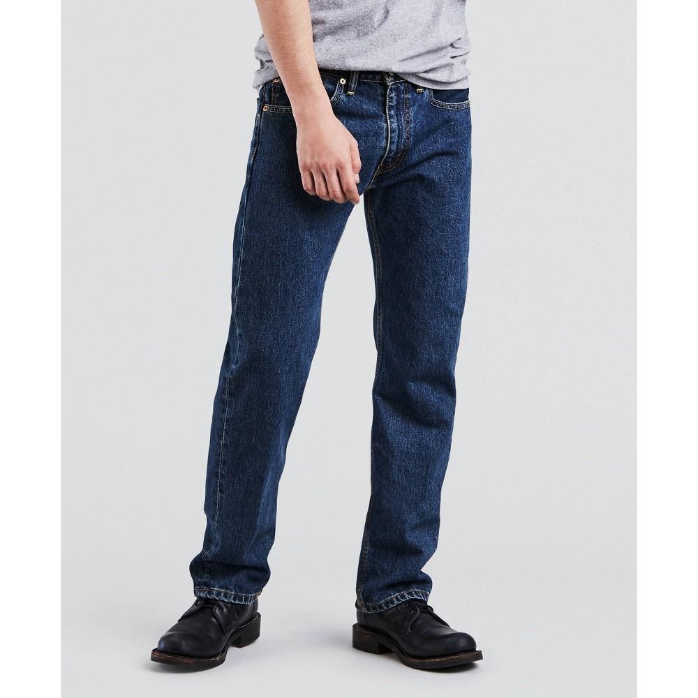 Levi 39 S 174 Men 39 S 505 Straight Regular Jeans Dark Wash 30x32