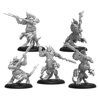 Chosen of Everblight - Blighted Ogrun Cavalry Unit Miniatures Box Set