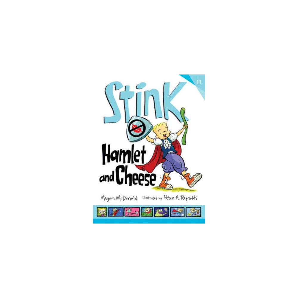 Hamlet and Cheese - (Stink) by Megan McDonald (Hardcover)