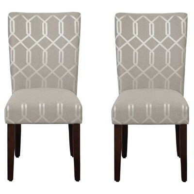 Set of 2 Parson Dining Chair - HomePop