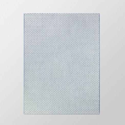 Diamond Outdoor Rug Navy - Threshold™ - image 1 of 2