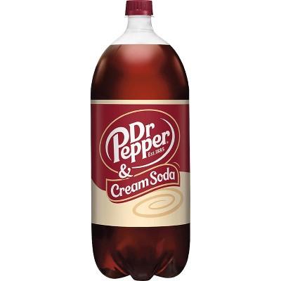 Dr Pepper & Cream Soda - 2 Liter Bottle