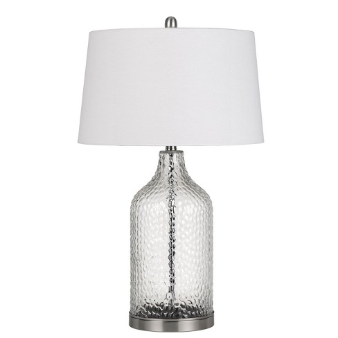150w 3 Way Rimini Gl Table Lamp Priced And Sold In Pairs Cal Lighting
