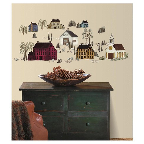 RoomMates Country Scenic Peel & Stick Wall Decals - image 1 of 2
