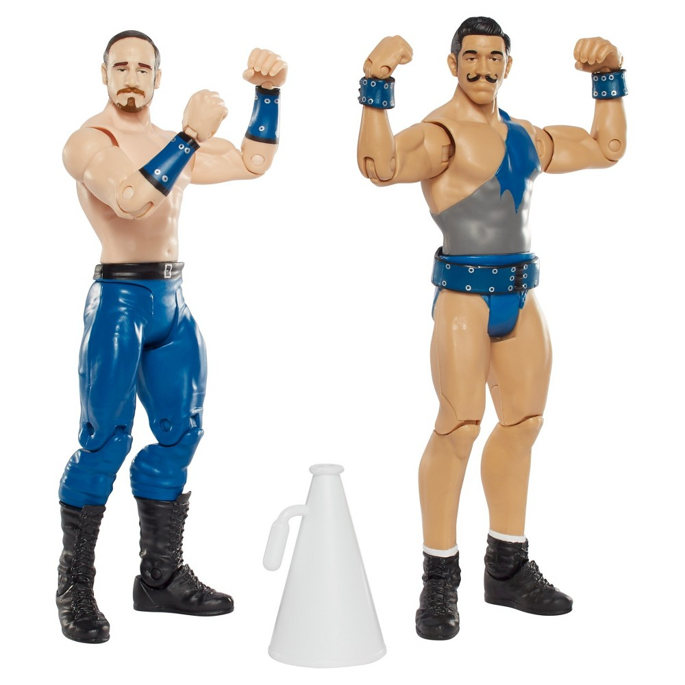 Wwe Simon Gotch and Aiden English Action Figure 2pk