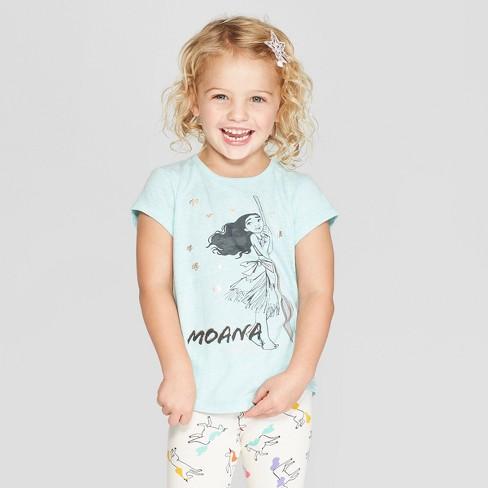 371cd48e Toddler Girls' Disney Princess Short Sleeve T-Shirt - Blue : Target