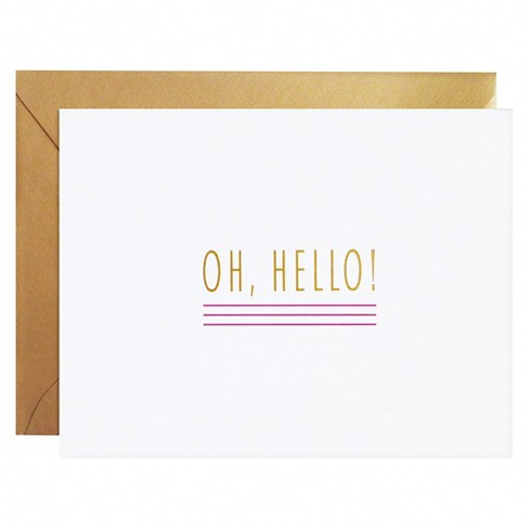 meant to be sent® Oh Hello Notecards 8 ct - image 1 of 1