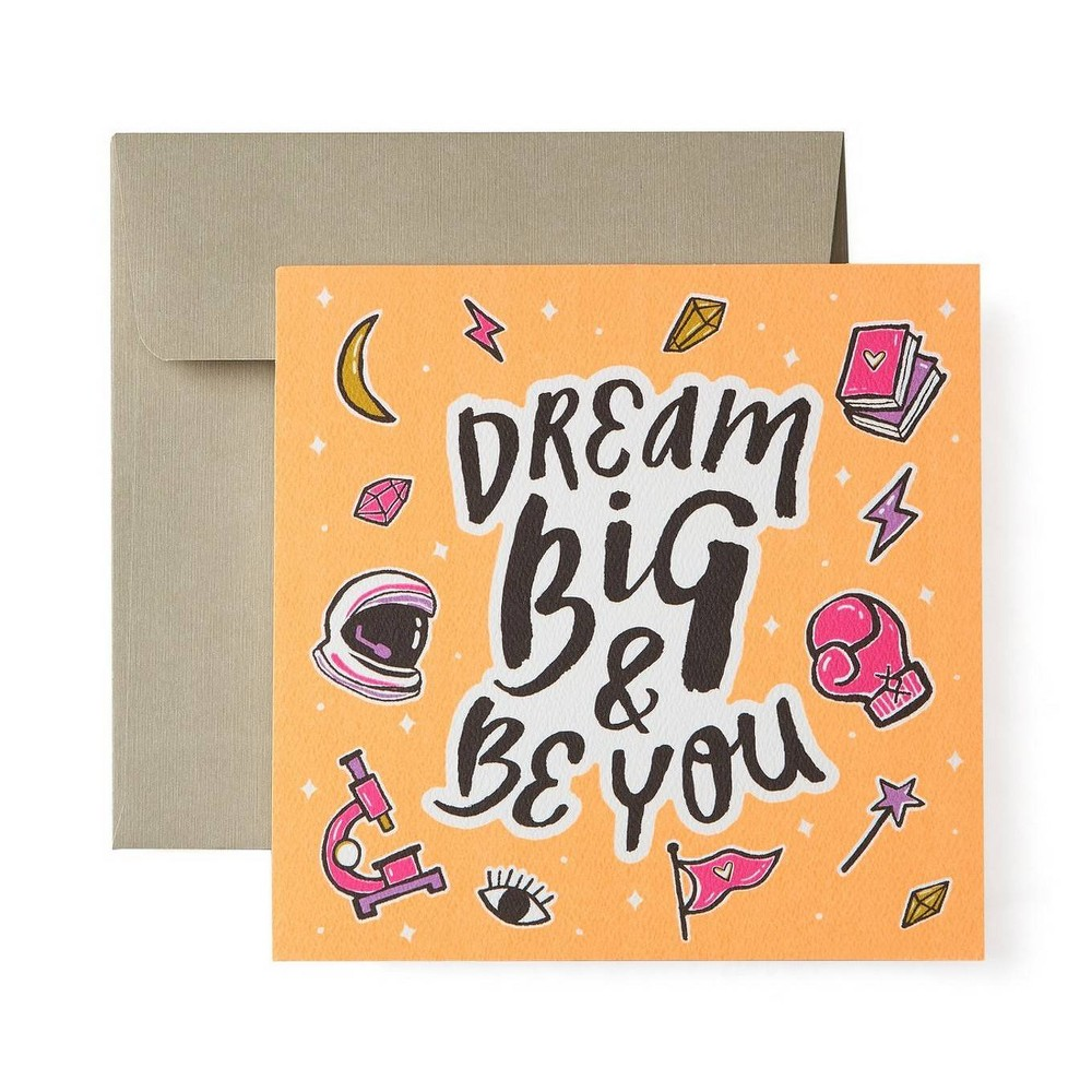 Image of Dream Big Greeting Card, cards and card packs