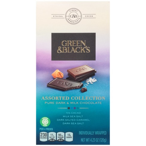 Green & Black's Dark & Milk Chocolate Assorted Collection - 4.23oz - image 1 of 4