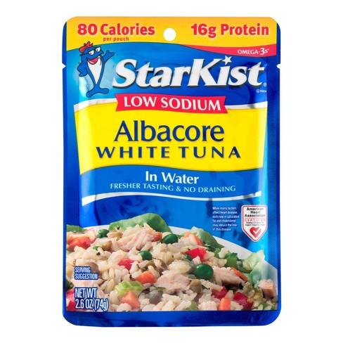 StarKist Low Sodium Albacore White Tuna